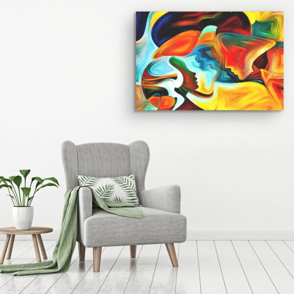 Canvas Wall Art - Searching for Love Deep Meaning