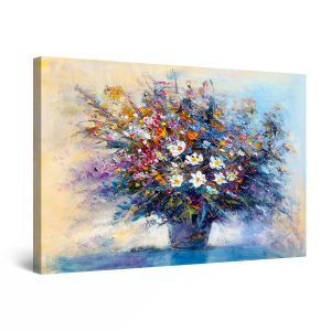 Canvas Wall Art - All Flowers are for YOU 80 x 120 cm