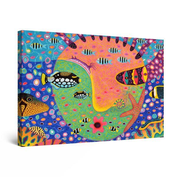 Canvas Wall Art - Abstract Underwater II