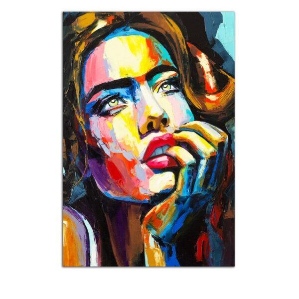 Plexiglass Wall Art - The Perfect Woman Decor  60 x 90 CM