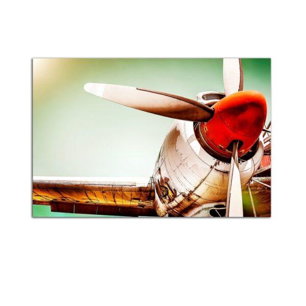 Plexiglass Wall Art - Old Glider Decor  60 x 90 CM