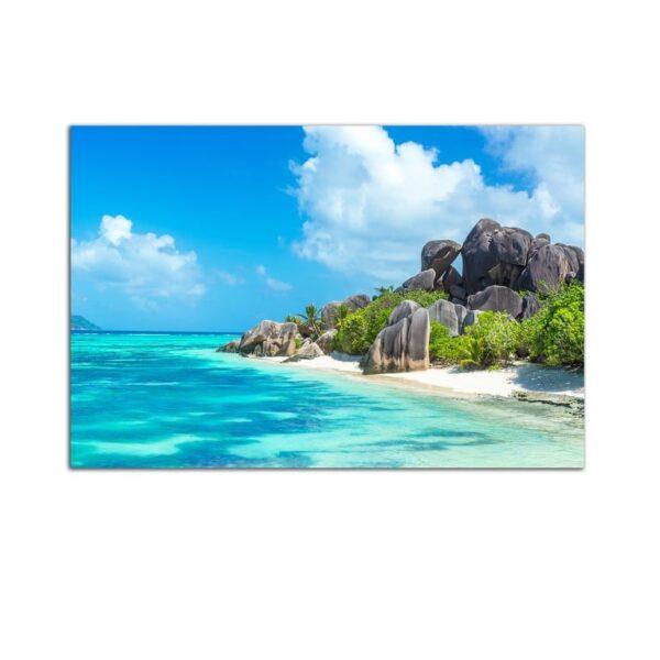 Plexiglass Wall Art - Caribbean Beach Decor  60 x 90 CM