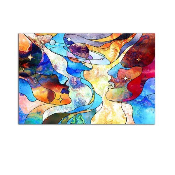 Plexiglass Wall Art - Love in Eternity Decor  60 x 90 CM
