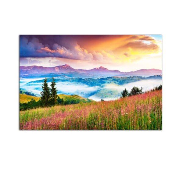 Plexiglass Wall Art - Mountain Landscape Decor  60 x 90 CM