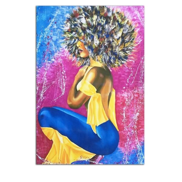 Plexiglass Wall Art - Disco Woman Decor 60 x 90 CM