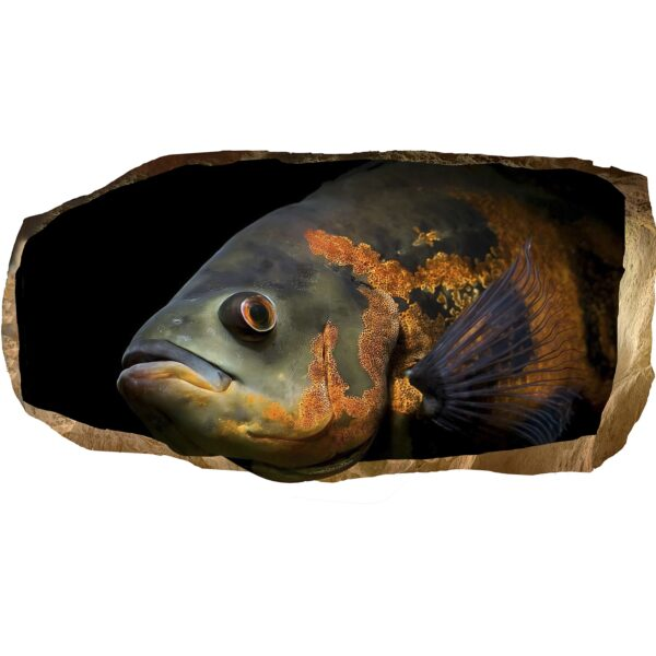 3D Mural Wall Art - Decor The Fish Know Everything Amazing