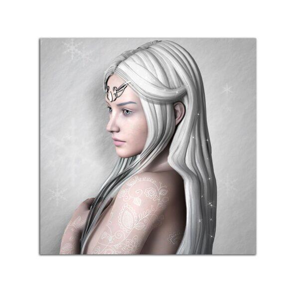 Plexiglass Wall Art - Snow Queen Decor 60 x 60 CM